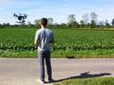 Mit der Drohne ins Feld