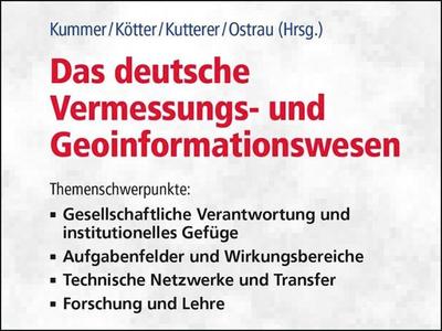 Das deutsche Vermessungs- und Geoinformationswesen 2020 (© Foto: www.vde-verlag.de)